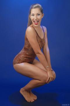 2015-08-16 Dayna Leigh Half Moon tummy control swimsuit