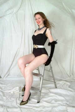 Photo from Chiara's first ever shoot with waist.it