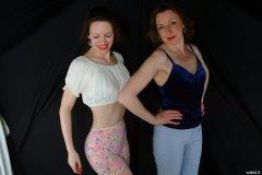 Chiara and Debbie