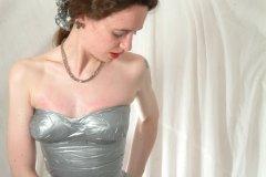 2003-05-23 Chiara gaffer tape dress