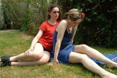 Chiara and Annie
