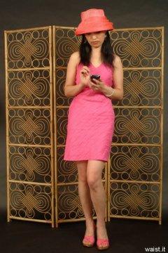 Moonlit Jane in minidress