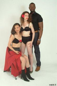 Moonlit Jane, Chiara and Az