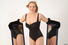 2005-05-13 Nikki in vintage Carol Wior tummy control one-piece swimsuit