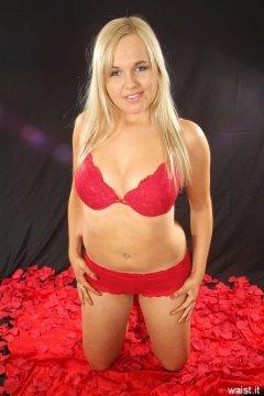 Heather with nice flat tummy