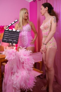 Photo from the 'pink shoot'