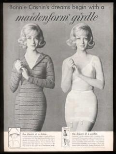 1961 maidenform bonnie cashin ad