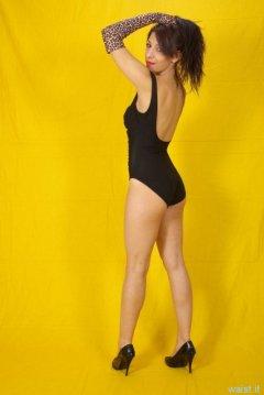 Model and dancer Francesca