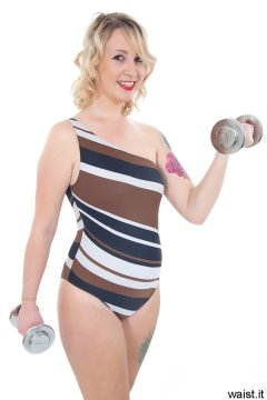 Sammy-Clare - swimsuit and 1kg weights