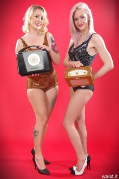 Sammy-Clare and DollyBird -  Ferguson and Roberts vintage radios