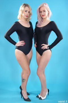 Sammy-Clare and DollyBird - leotard