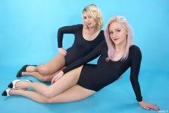 Sammy-Clare and DollyBird - leotard