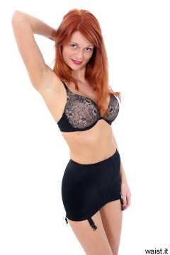 Charlotte - bra and roll-on girdle
