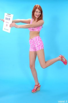 Charlotte - unbranded Chinese pink sport stop and pants