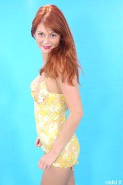 Charlotte - 1960s Berlie pantie-corselet