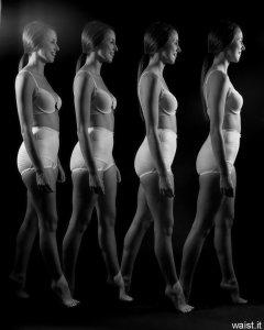 """20140628Josie Lauren in vintage white bra and firm """"Little X"""" pantie girdle, strobe experimentimgp9837-josie-girdle-strobe"""