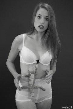 Josie Lauren bra and girdle