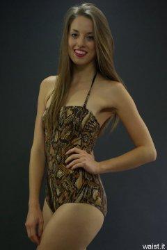 Josie Lauren M&S animal print swimsuit