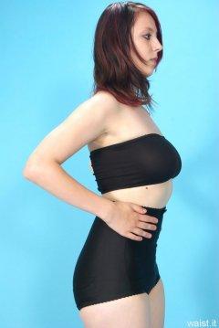 Lauren retro fitness shoot