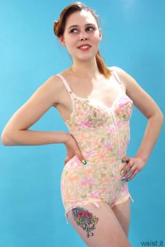 Lora in Berlei corselette