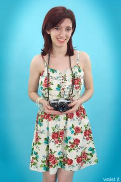 Dawsie retro floral dress