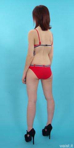Dawsie red bikini
