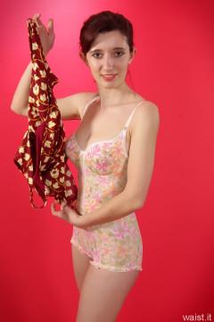 Dawsie 1960s Berlei pantie corselette