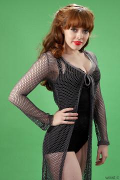 Kirsten-Ria black Chinese bodyshaper