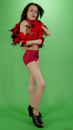 2015-03-21 LTidy - red dance costume