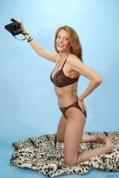 Alicia Legs animal print bikini