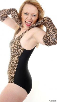 2015-05-25 Amandah animal print swimsuit