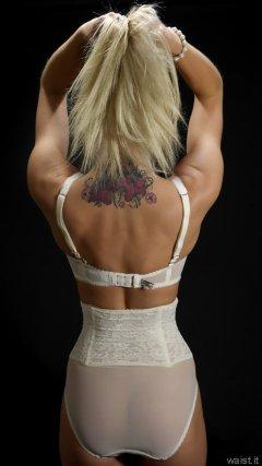 2015-06-03 DollyBird white bra and girdle