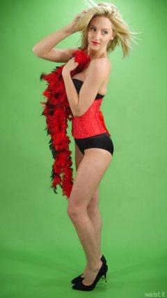 2015-06-03 DollyBird red waspie corset