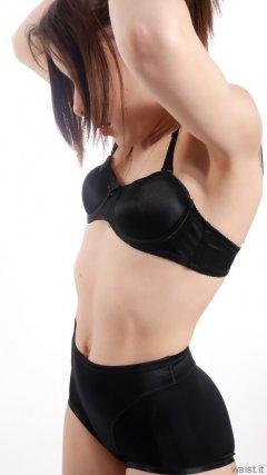 2015-06-06 LTidy black bra and girdle