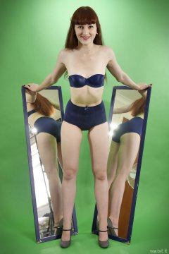 2015-06-21 Esme Chard - Bblue Chinese bra and girdle