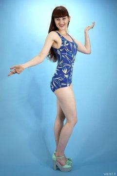 2015-06-21 Esme Shard vintage tummy-control swimsuit swimsuit