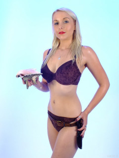 2015-08-22 Princess K Ursula Andress bikini shot