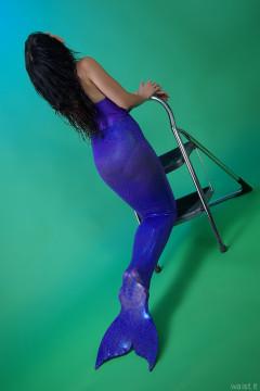 2015-09-18 Becki Lavender mermaid costume