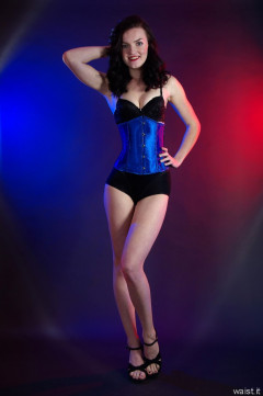 2015-10-24 Jodi Beth blue underbust corset