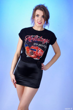 2015-11-06 GinA1 T-shirt and skort