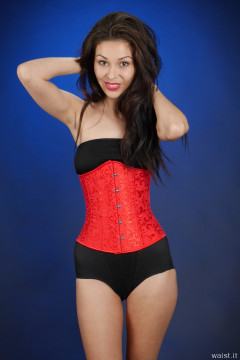 2015-11-21 Shannon in girdle and corset