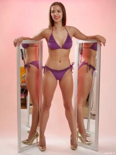 2016-09-09 Danielle Morrison purple bikini