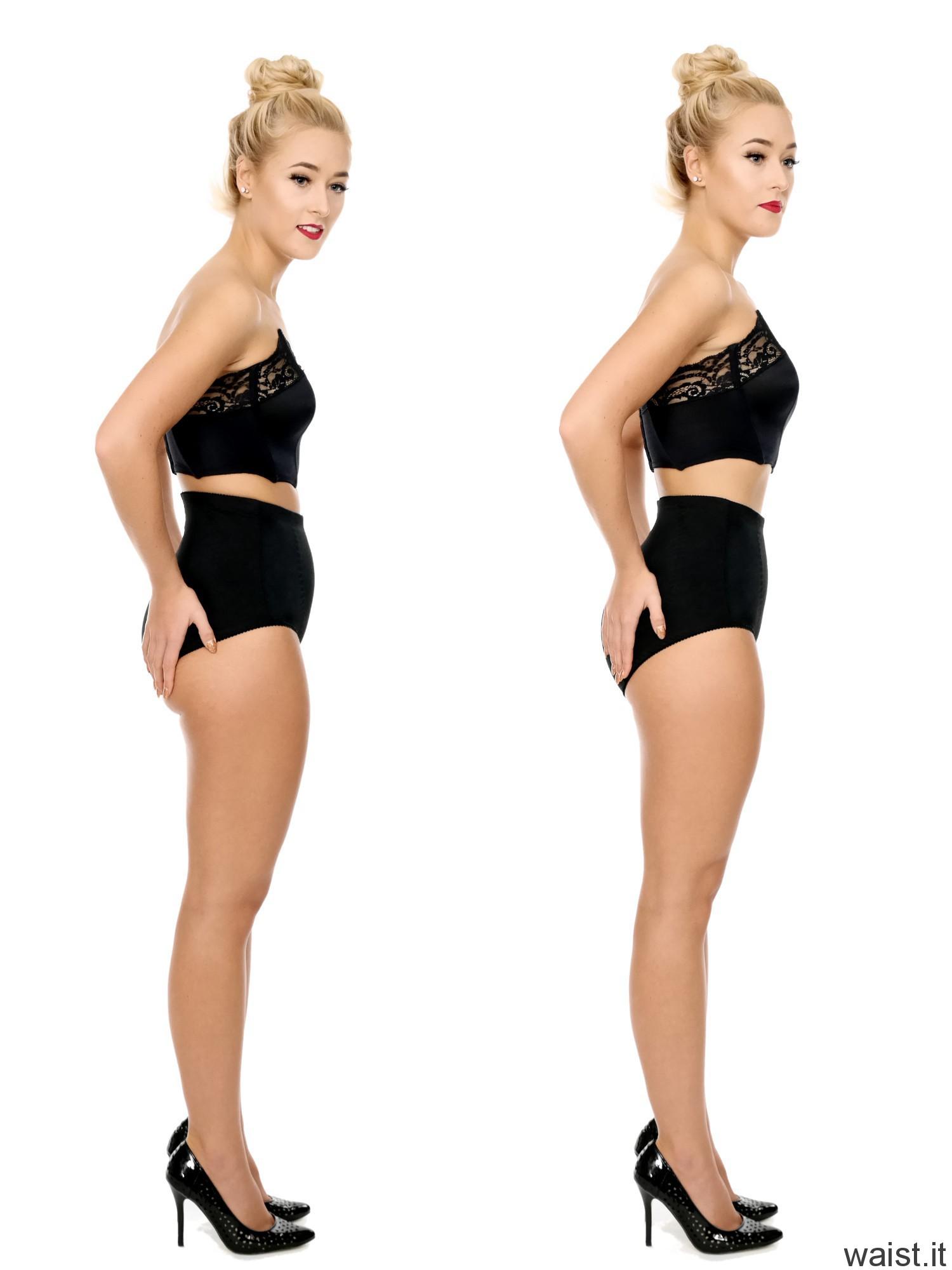 2016-11-06 Fleur fitness collage - posture