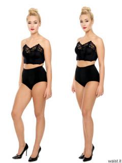 2016-11-06 Fleur fitness collage - leg position