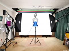 2016-11-06 the studio ready for Fleur's arrival