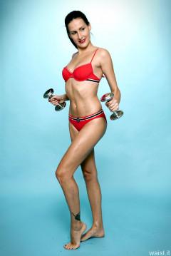 2016-11-20 MissGlamour bikini workout