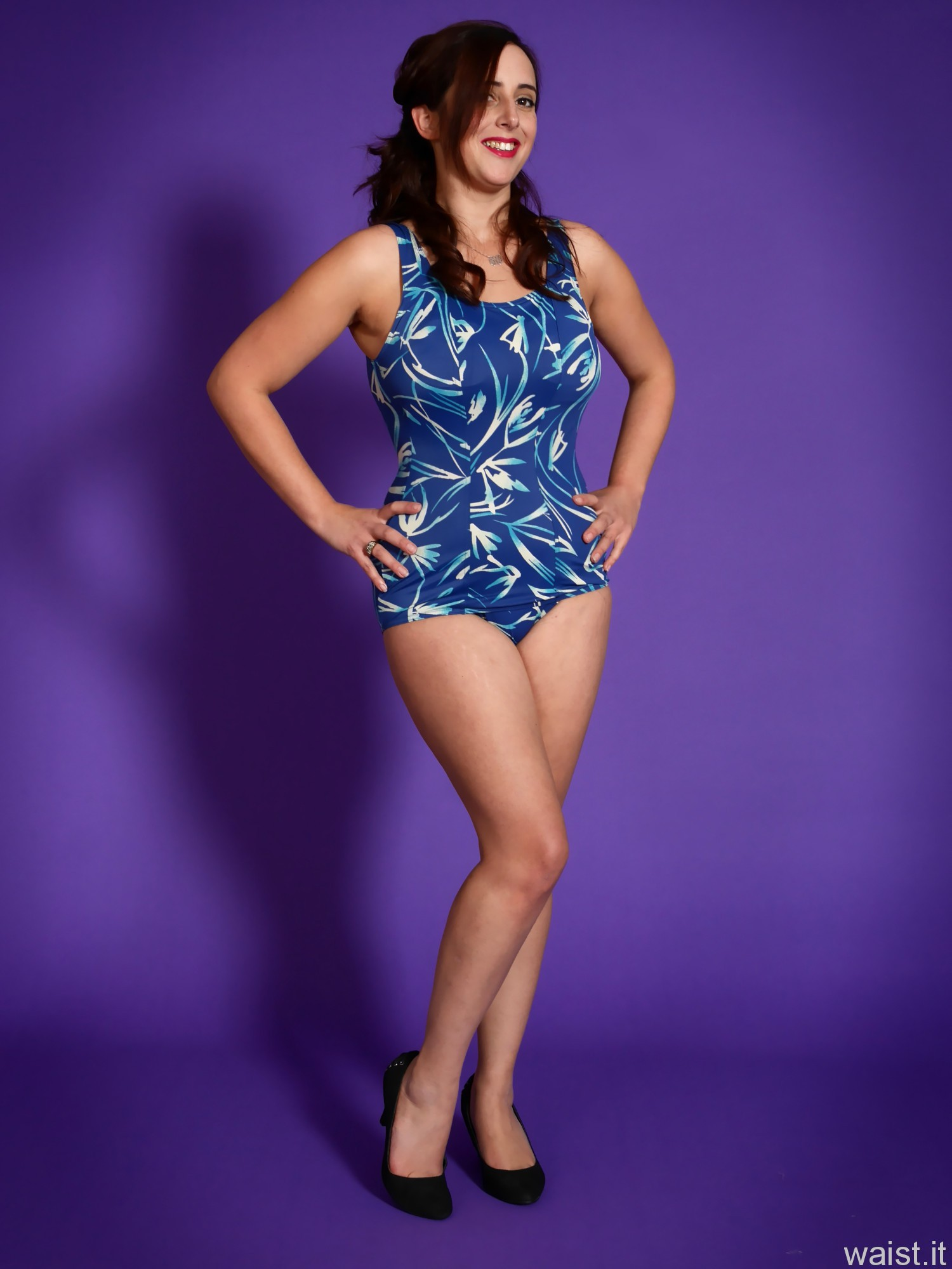 2016-11-23 AlexH blue vintage swimsuit