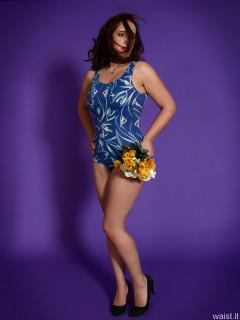 2016-11-23 AlexH blue vintage swimsuit