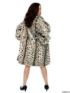 2016-11-23 AlexH fur coat bra and girdle