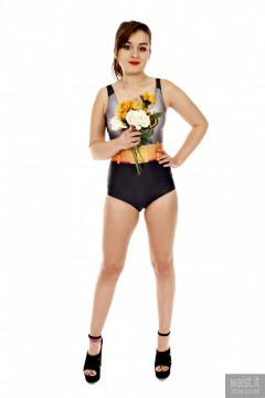 2016-12-04 Nannina in Batman swimsuit
